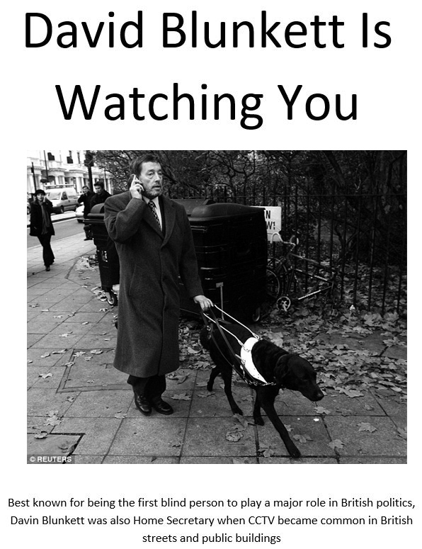 David Blunkett Is Watching You